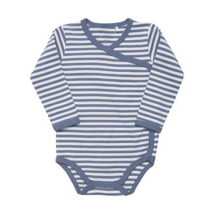 FIXONI Langarm Body China Blue Stripe