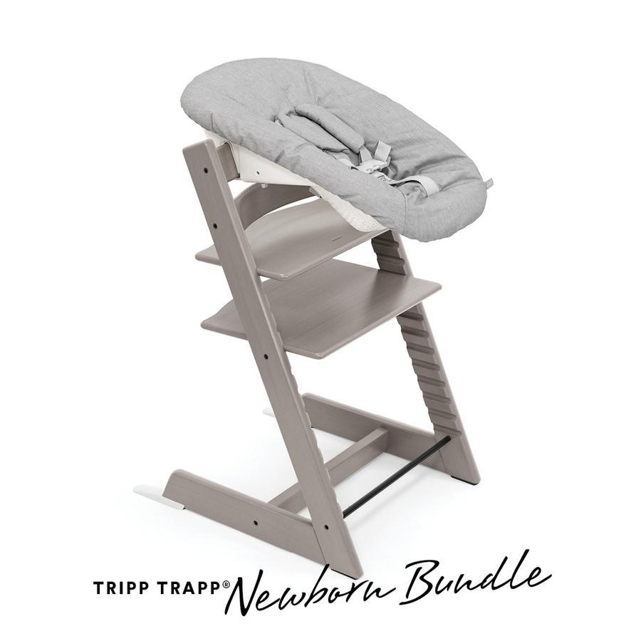 STOKKE® Tripp Trapp® Hochstuhl Oak Grey Wash inkl. Newborn Set™ Grey