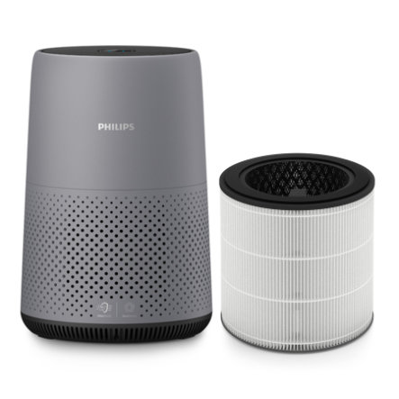 Philips Avent Luchtreiniger AC0830/10 in donkergrijs, inclusief HEPA-filter FY0293/30