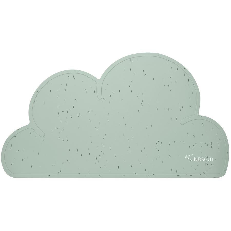 KINDSGUT Juego de mesa Cloud Sprinkles, Aguamarina