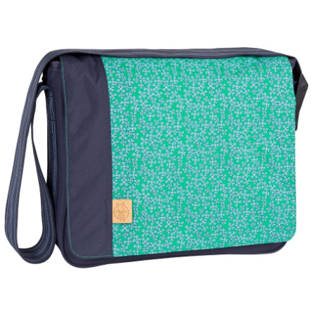 LÄSSIG Wickeltasche Casual Messenger Bag Blossy Navy
