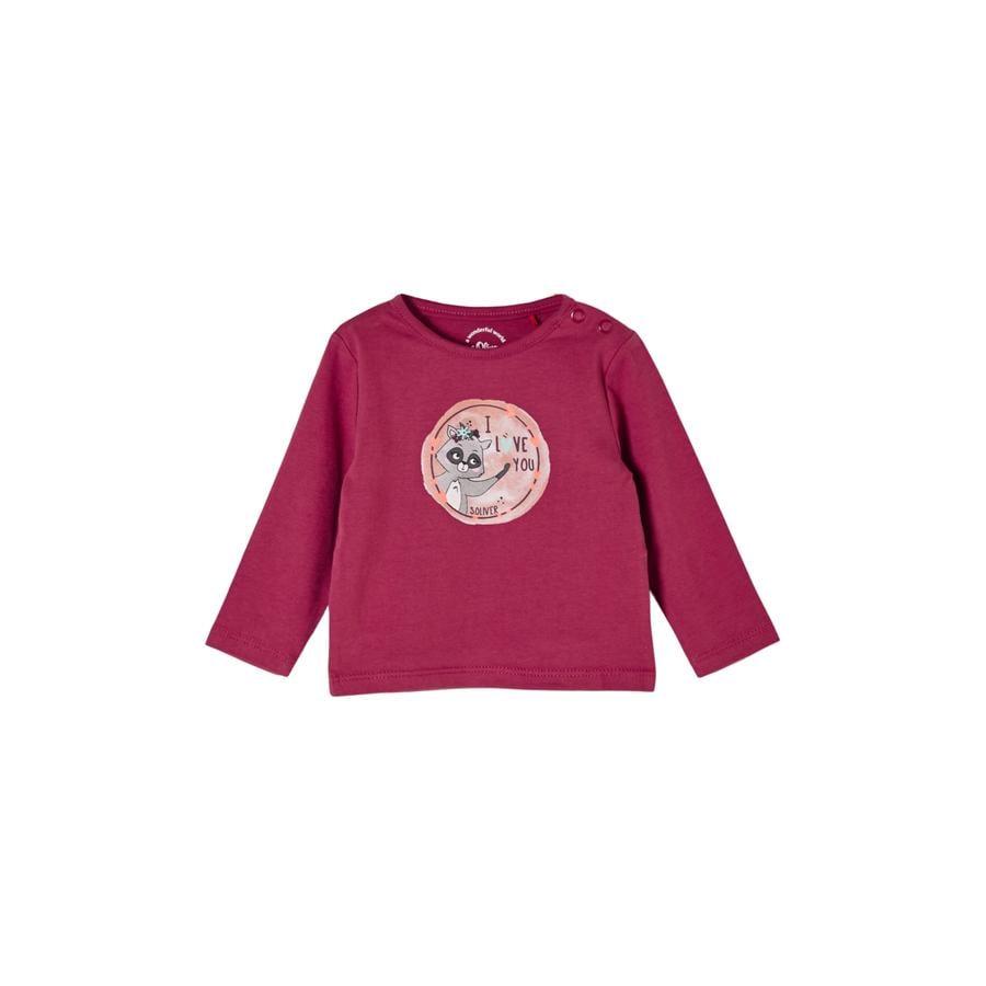 s.Oliver Langarmshirt pink