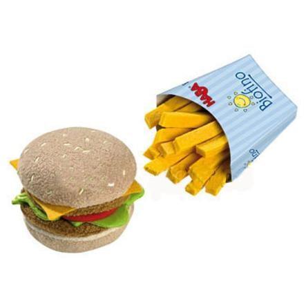HABA Biofino obchod - hamburgr s hranolky
