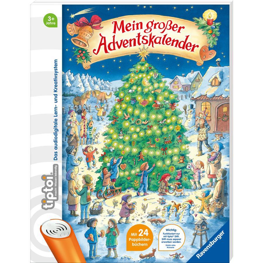 Ravensburger tiptoi® Mein großer Adventskalender