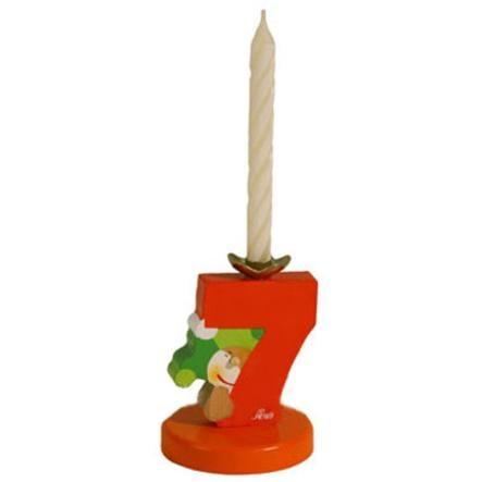 SEVI Birthday Candle Holder Number 7
