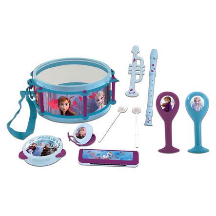 LEXIBOOK Disney Die Eiskönigin Musikset mit sieben Instrumenten