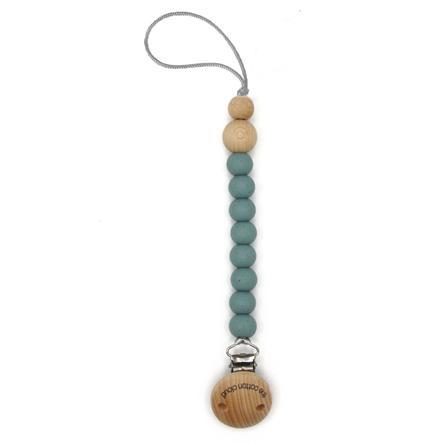 the cotton cloud Schnullerkette aus Silikon Round Jade