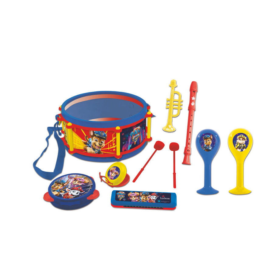 LEXIBOOK Paw Patrol Musikset mit sieben Instrumenten