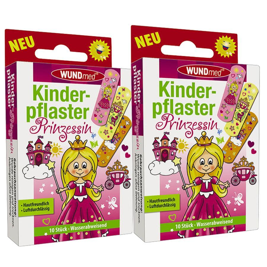 WUNDmed Kinderpflaster Motiv: Prinzessinnen Doppelpack