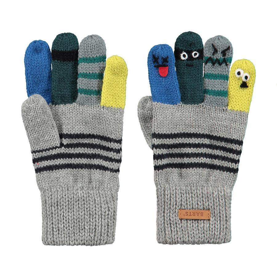 BARTS Handschuhe Puppeteer heather grey