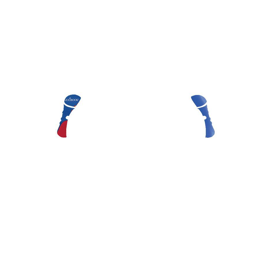 LEXIBOOK Spiderman CD-Player mit zwei Mikrofonen