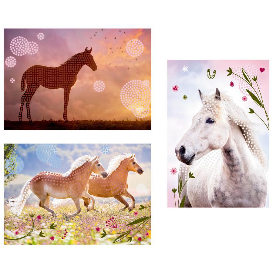 SPIEGELBURG COPPENRATH Diamond Peinture - Les amoureux des chevaux