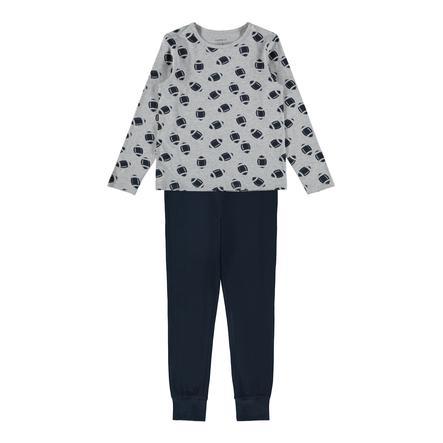 name it Pyjamas 2-delt Nkm nattsett Grey Melange