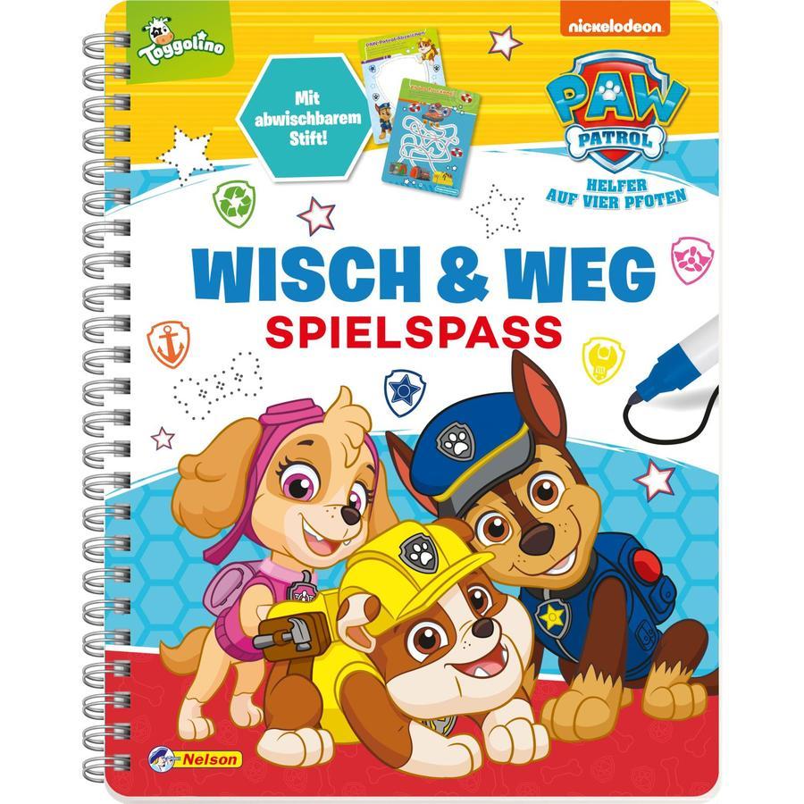 CARLSEN PAW Patrol: Wisch & Weg - Spielspaß