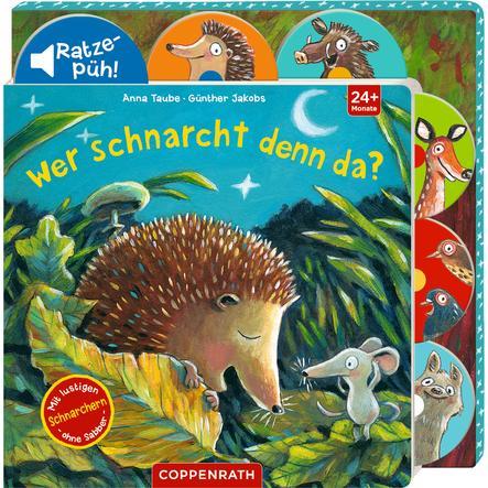 SPIEGELBURG COPPENRATH Wer schnarcht denn da? (Soundbuch)