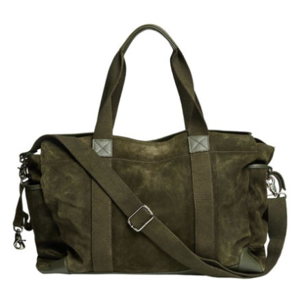 mama;licious Wickeltasche MLSUEDE olive night