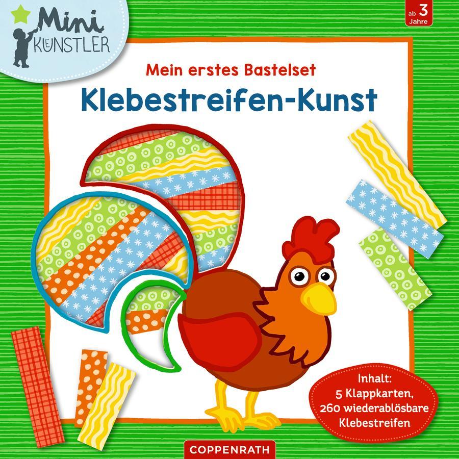 SPIEGELBURG COPPENRATH Mein erstes Bastelset: Klebestreifen-Kunst