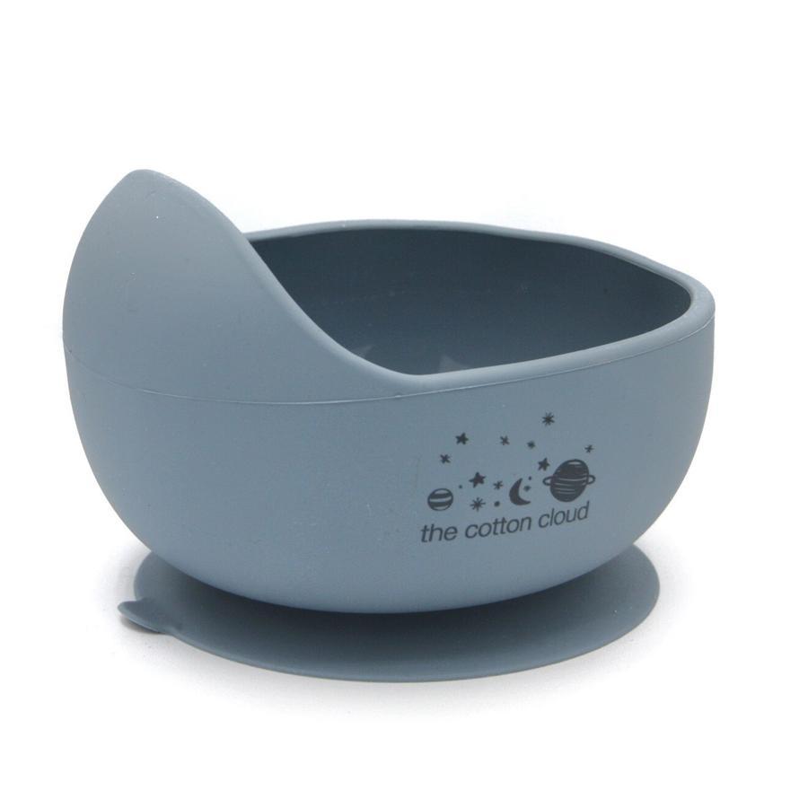 the cotton cloud Esslernschüssel aus Silikon Smokey Blue