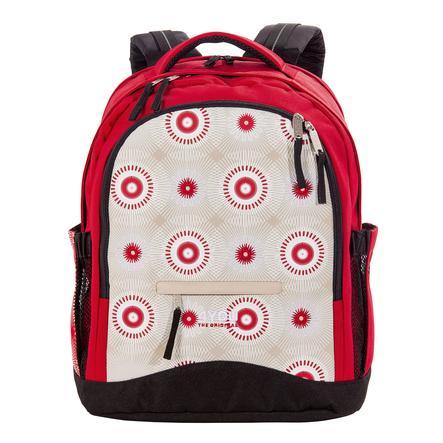 4YOU Flash BTS Rucksack Compact, Retro Circles 172-43