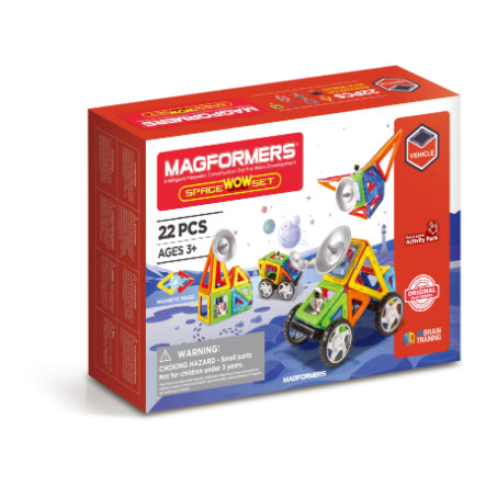 MAGFORMERS® WOW Space Set