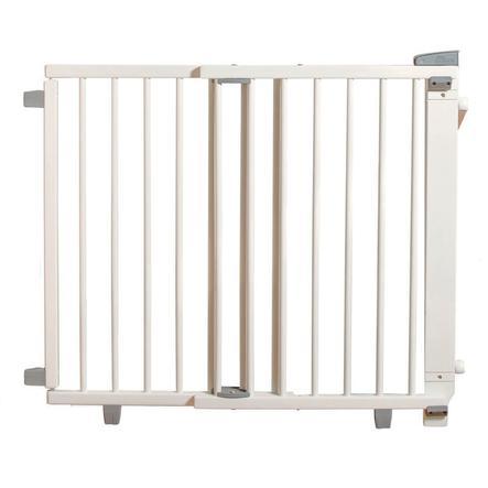 geuther Barrière d'escalier pivotante Plus 2735+ 95-135 cm bois blanc