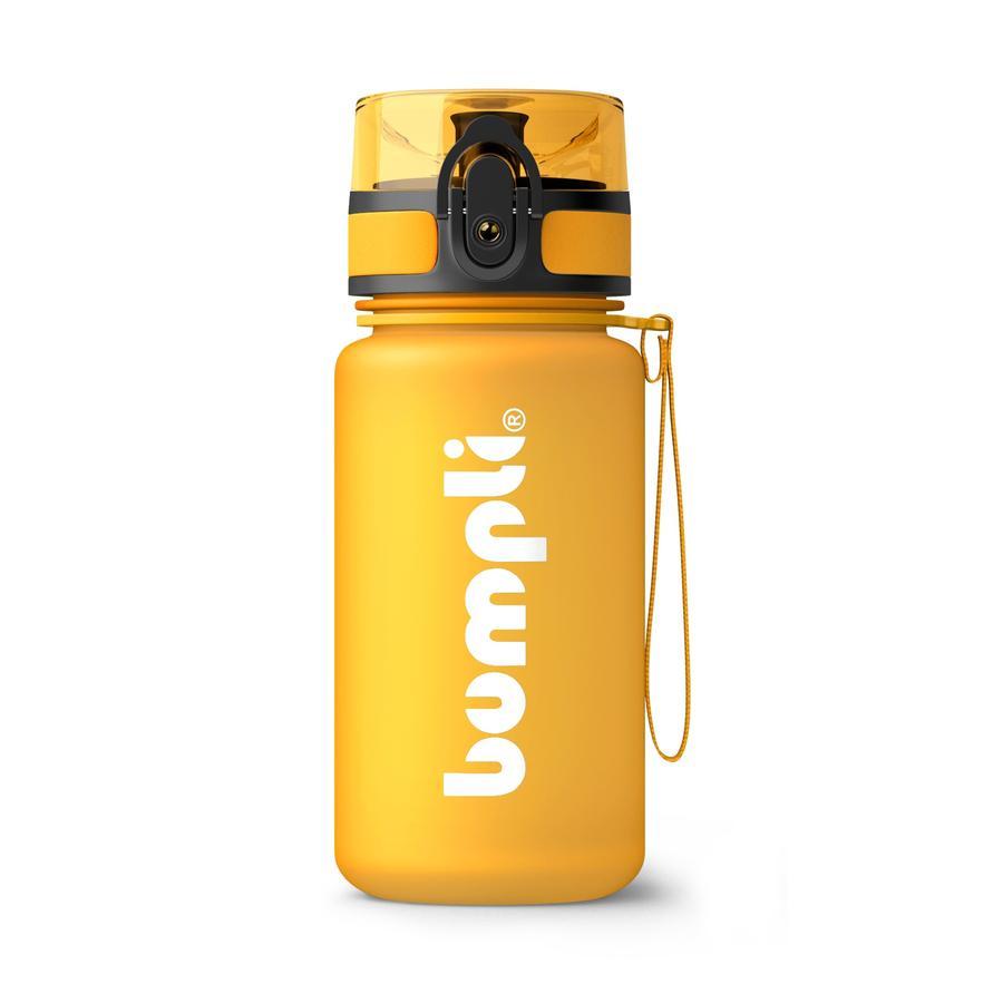 bumpli ® Butelka do picia dla dzieci Soft Touch orange 350 ml od 3 roku życia