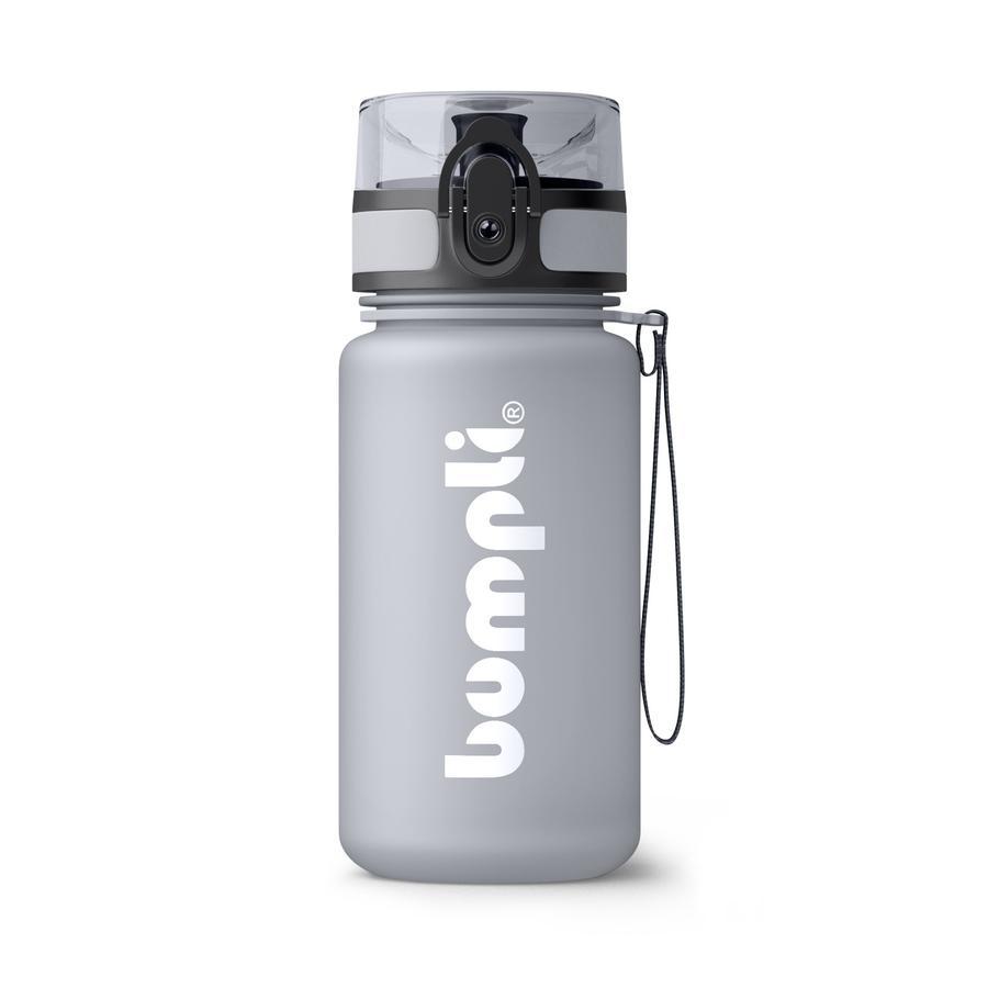 bumpli® Kindertrinkflasche SoftTouch grau 350 ml ab dem 3+ Jahr