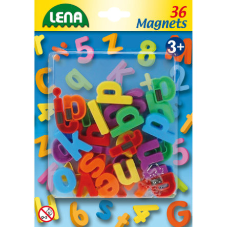 LENA Magnetic Small Letters