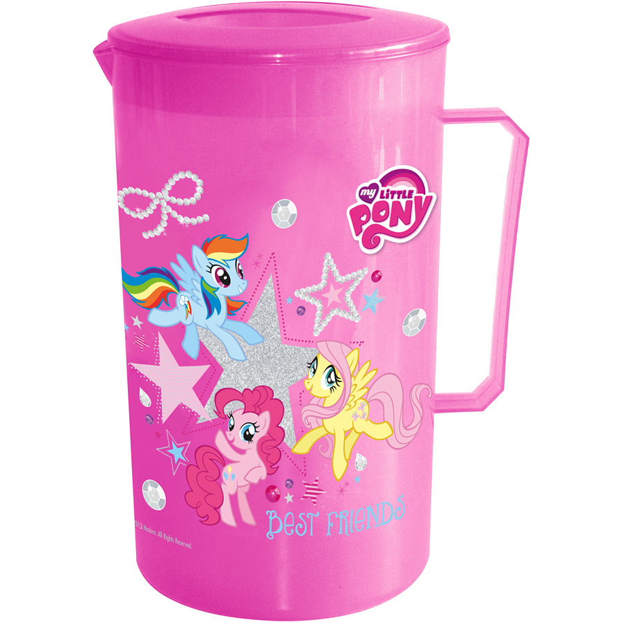 P:OS Saftkrug und 4 Becher My little Pony
