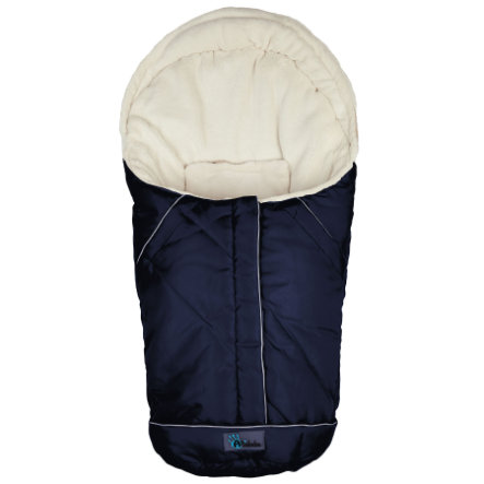 ALTA BÉBE Infant Seat Winter Footmuff VOYAGER (AL2003) navy/whitewash, 2013/2014 collection