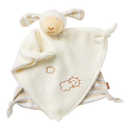 babyFEHN Sutteklut med smokkholder/Kosedyr - Baby Love Lam