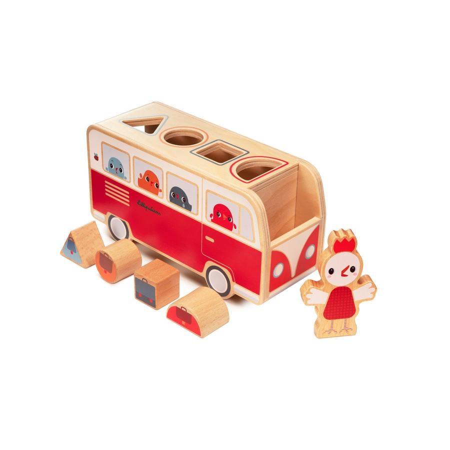 Lilliputiens Paulette Wooden Activity Toy