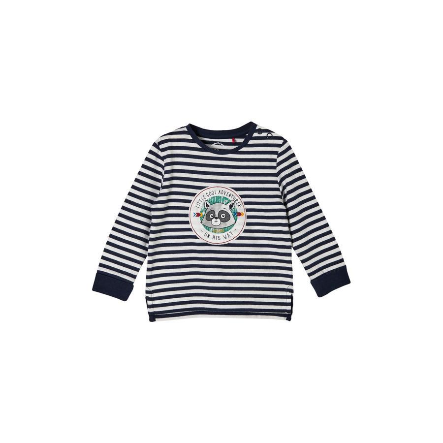 s.Oliver Langarmshirt dark blue stripes