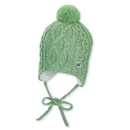 Sterntaler Strickmütze grün