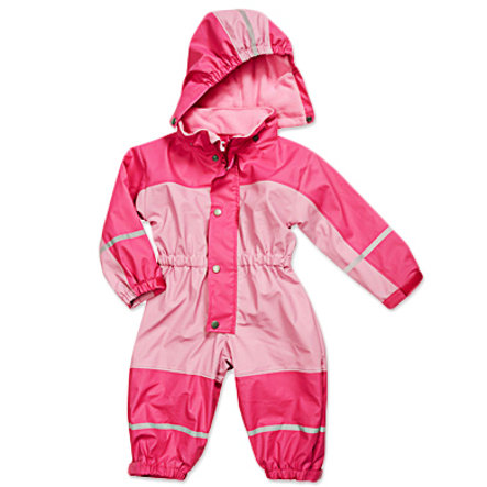 PLAYSHOES Fleeceoverall  rose/pink