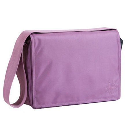 LÄSSIG Wickeltasche Glam Messenger Bag Design lavender
