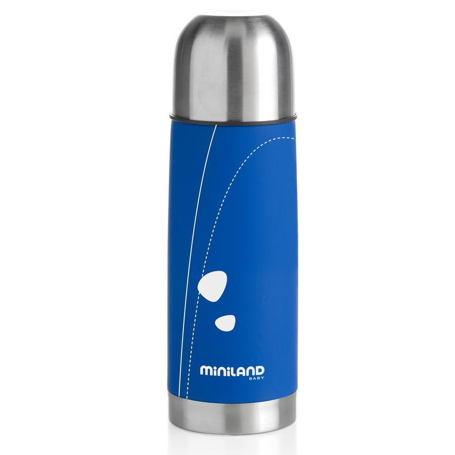 miniland Thermoflasche Soft Thermo 330 ml blau