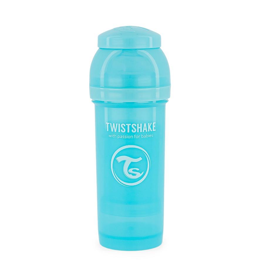 Twist shake Drikkeflaske antikolik 260 ml pastelblå