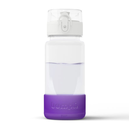 bumpli ® Yövalo jokaiselle pullolle - 2. sukupolvi violetissa värissä.