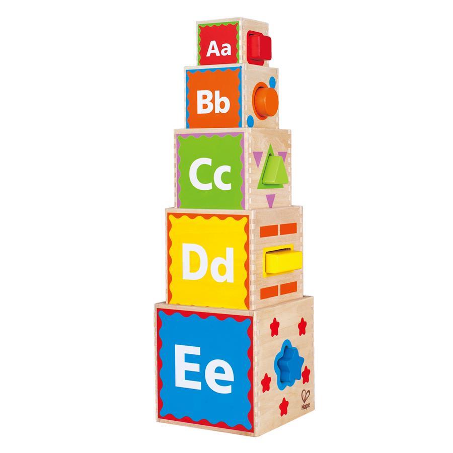 HAPE Pirámide de juegos 10 piezas