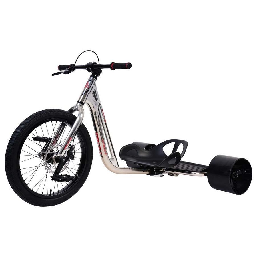 Driftwerk TRIAD Drift Trike Notorious 4 chrome black