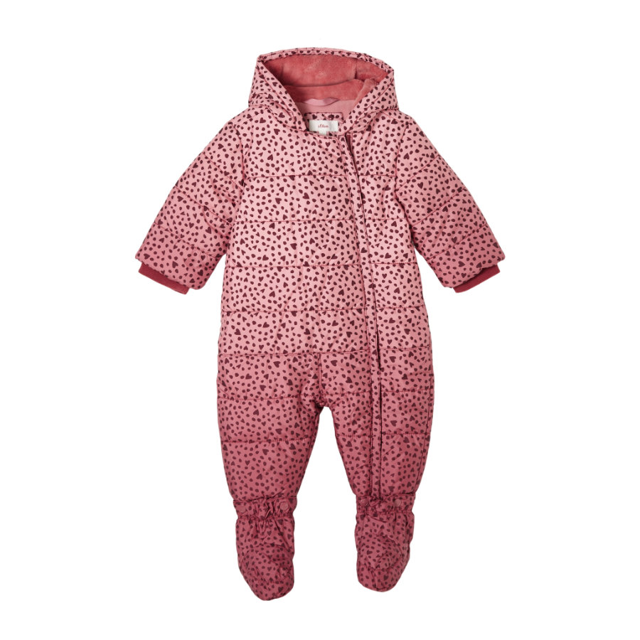 s. Olive r Sneeuw overall roze