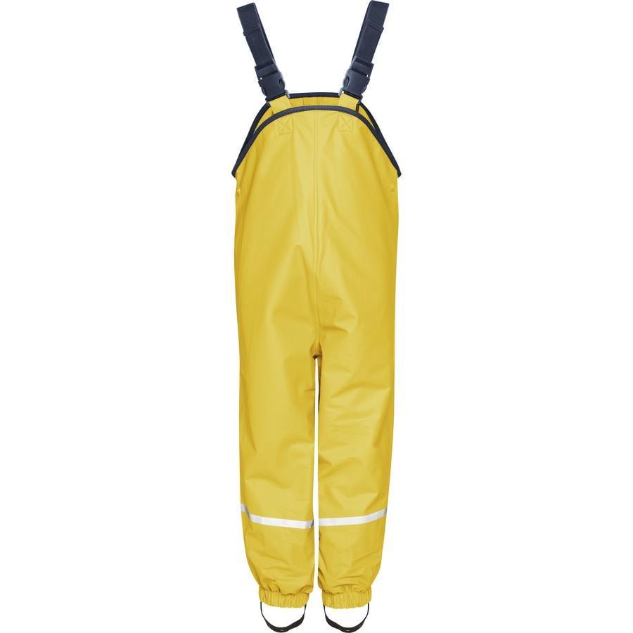 Playshoes  Fleecové šortky s náprsenkou žluté