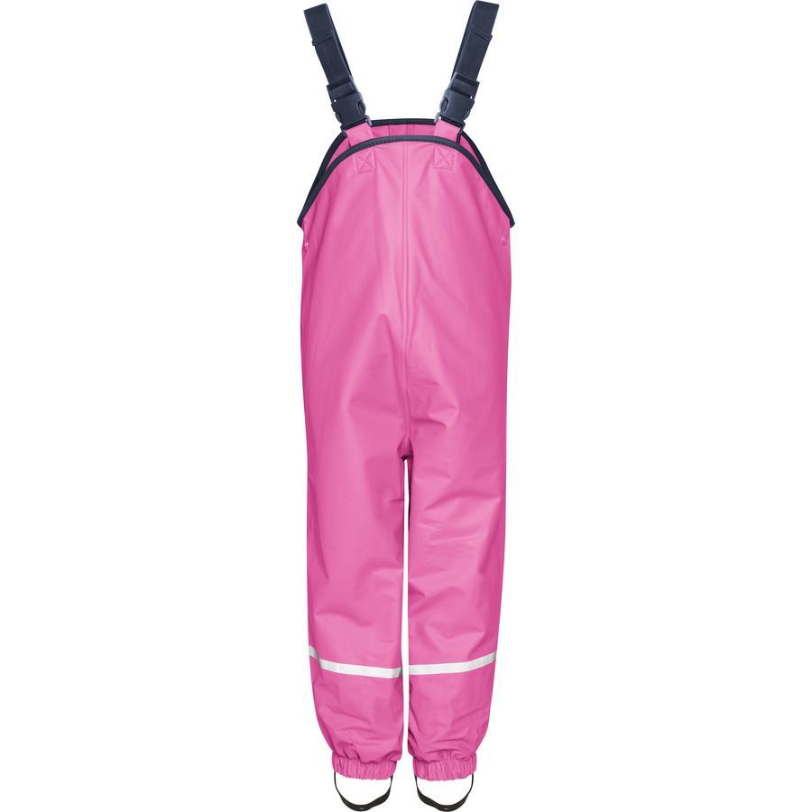 Playshoes Fleece-Trägerhose pink