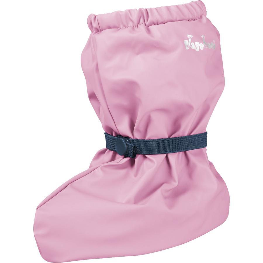 Playshoes Regenfüßlinge mit Fleece-Futter rosa