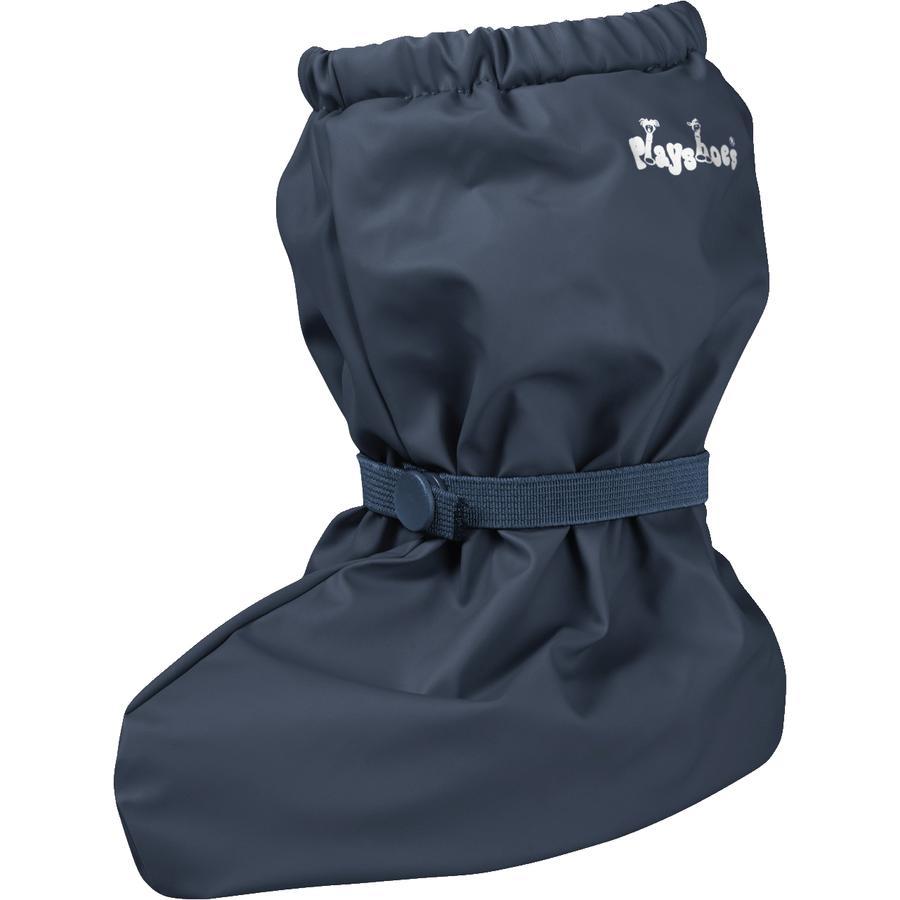 Playshoes Regenfüßlinge mit Fleece-Futter marine
