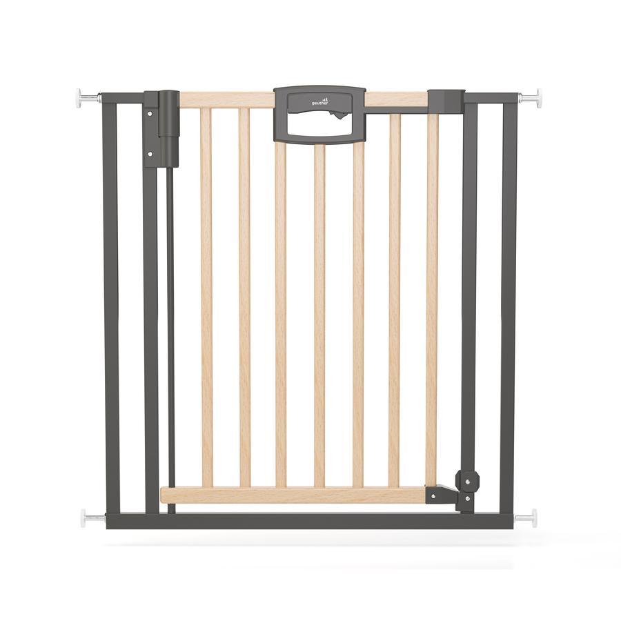 geuther Türschutzgitter Easylock Wood Plus 2792+ 80,5 - 88,5 cm