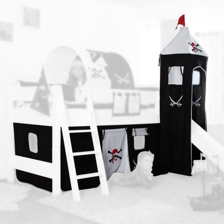 Relita Stoffset für Hochbetten mit Turm Pirat