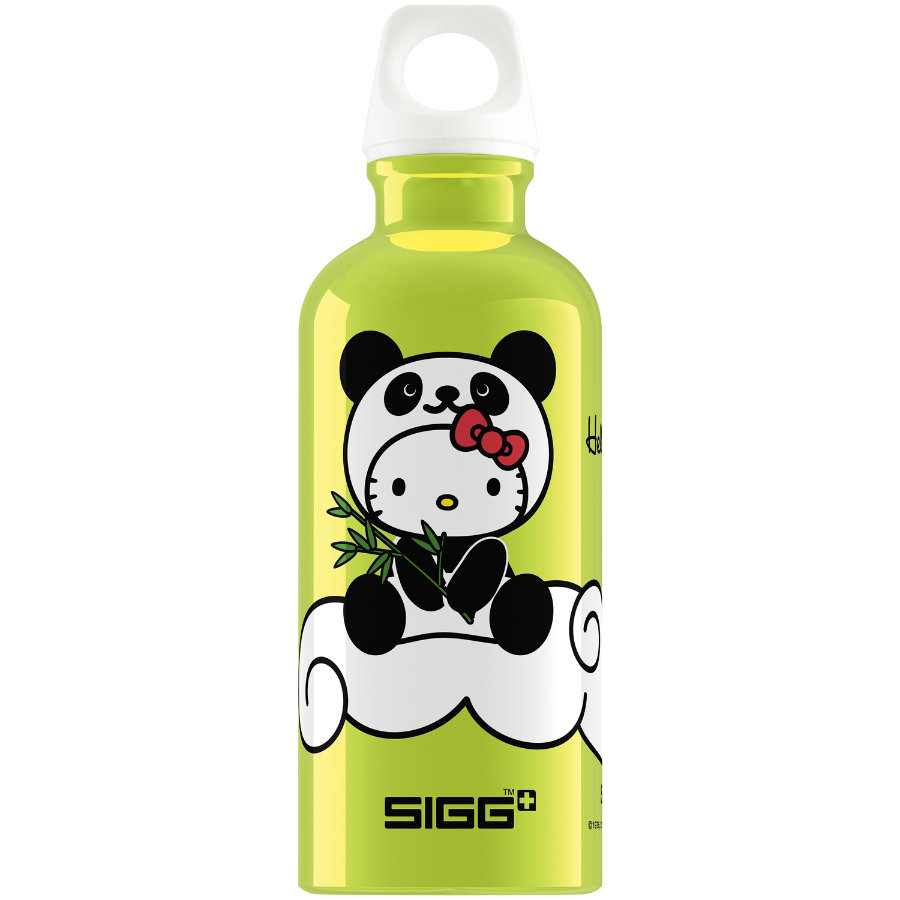 SIGG Trinkflasche 0,4l Design Hello Kitty Panda Lime