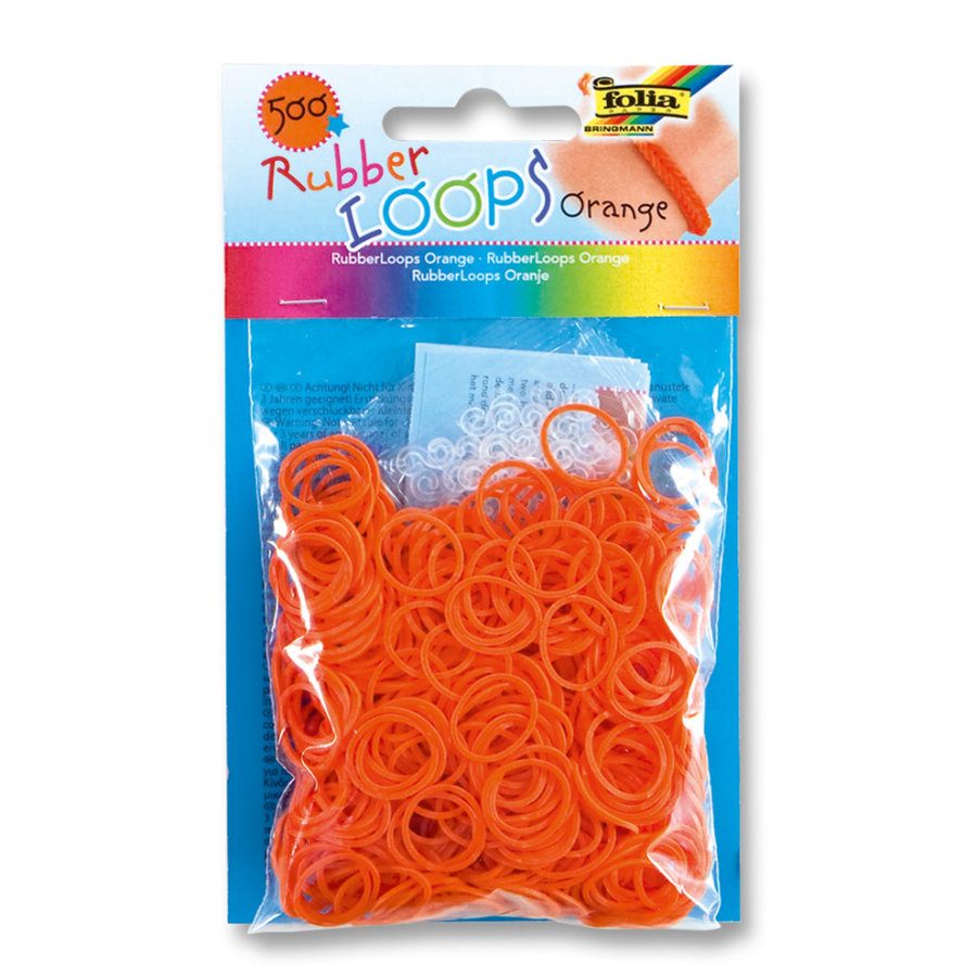 FOLIA Rubber Loops® - Orange
